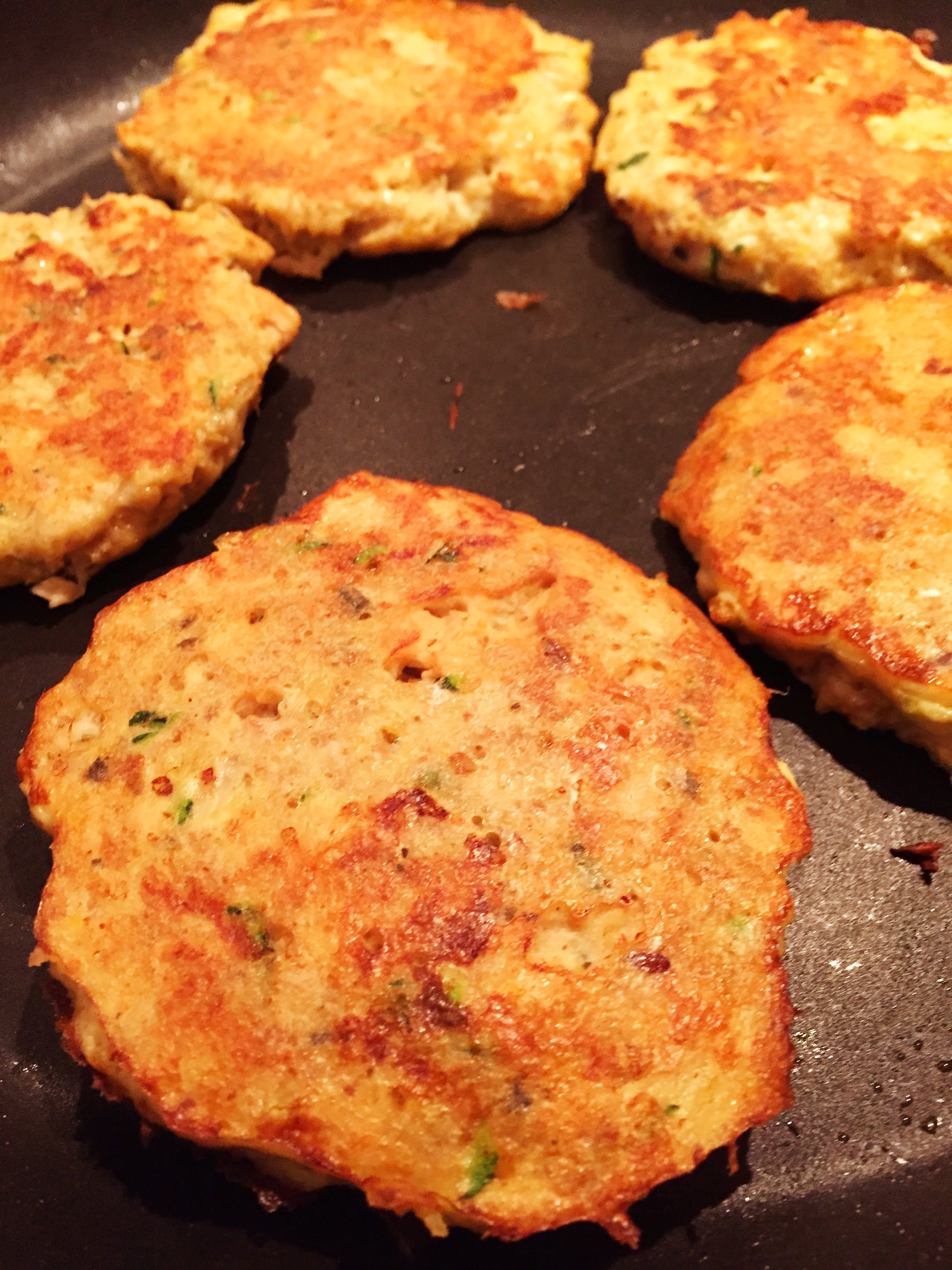 how to make salmon patties without eggs