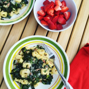 Greens and Pasta